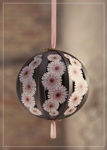 Pink-Brown Ball - greeting card