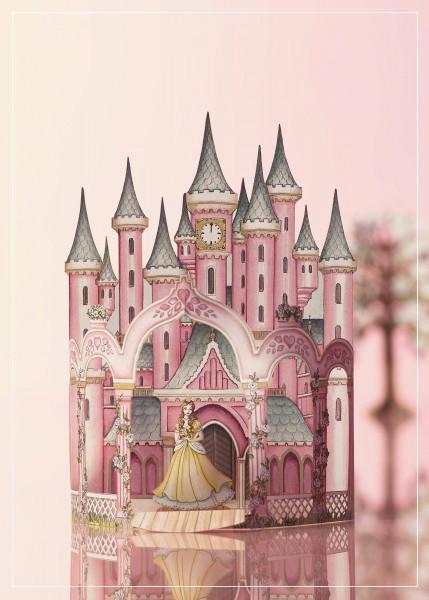Princess Castle - greeting card