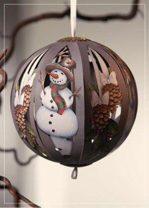 X-mas Ball Snowman Cone